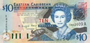 Восточно-карибский доллар — валюта восьми государств