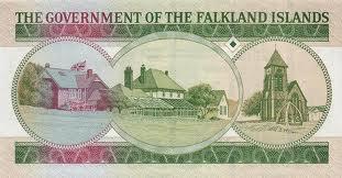 Валюта спорных островов — фолклендские фунты