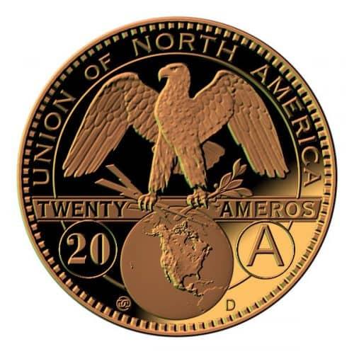 Амеро — потенциальная валюта Союза Северной Америки, наследник доллара и песо