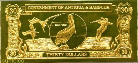 Золотые и серебряные банкноты — подарок «На удачу»