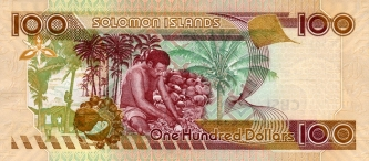 Наследники денег из черепов — доллары Соломоновых островов