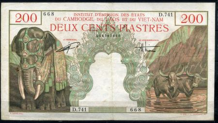 Валюта колониальной эпохи — пиастры Индокитая