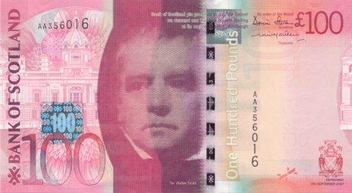 Валюта древнего  Королевства и современной страны — Шотландский фунт
