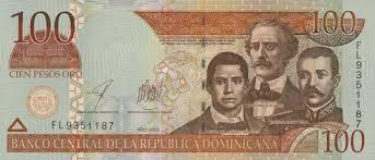 Золотая валюта — песо доминикана