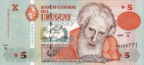 Валюта процветающей страны — уругвайский песо