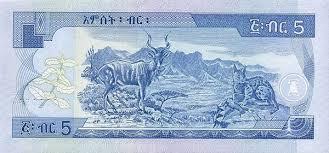 Валюта древней земли — бырр, он же эфиопский доллар