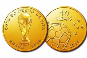 Памятные монеты Чемпионата мира по футболу 2014
