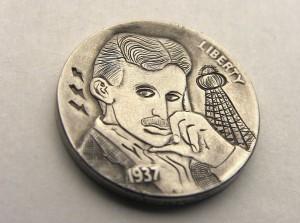 монеты никола Тесла