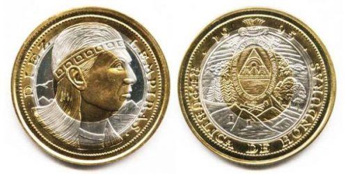 Валюта с индейским именем — гондурасская Лемпира