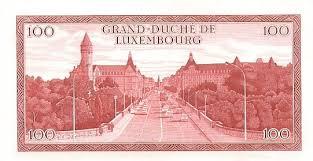 Исчезнувшие валюты — франк Великого герцогства Люксембург