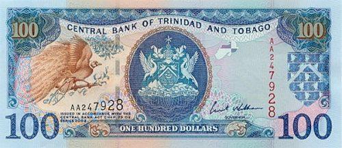 Доллар Тринидада и Тобаго  — валюта вечнозелёных островов
