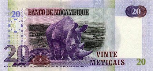 Валюта с трудной судьбой — мозамбикский метикал