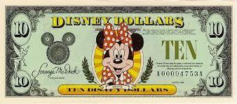 Валюта сказочной страны — доллары Диснея