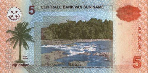 Валюта страны золота и болот — суринамский доллар