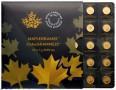 Канадские инвестиционные монеты — от  1 грамма до центнера золота
