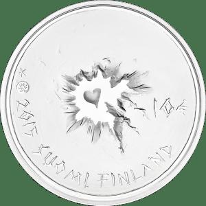 Монета доблести — финские серебряные Sisu